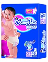 Mamy Poko Pant Style Diapers - Extra Large, 46 pieces Pack