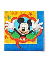 Mickey Mouse In A Fun Design Lunch Napkins