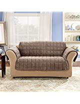 Sure Fit Deluxe Sofa Pet Throw, Sable