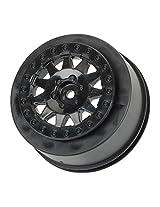 Pro-Line Racing 273903 F-11 +3 Offset 2.2/3.0 Wheels SC Trucks, Black (2)