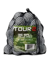 Titleist Pro V1, C Grade Recycled Golf Balls in Mesh Bag (Value Pack of 36)