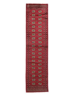 Rug Republic One Of A Kind Bokhara Hand Knotted Rug, Bokhara Red/Multi, 2' 7