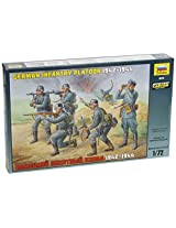 Zvezda Models 1942-1944 German Infantry Platoon Kit