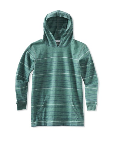 Micros Boys 8-20 Long Sleeve Pullover (Heather Green)