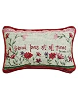 Manual 12.5 x 8.5-Inch Decorative Throw Pillow, A Friend Loves