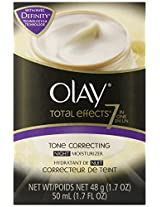 Olay Total Effects 7-In-1 Tone Correcting Night Moisturizer 1.7 Fl Oz