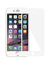 Amzer Kristal Edge2Edge Screen Protector Scratch Guard Shield for iPhone 6, iPhone 6s Plus - Retail Packaging - White