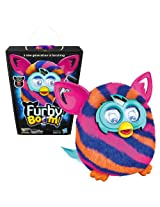 Hasbro Year 2013 Furby Boom Series 5 Inch Tall Electronic App Plush Toy Figure - Blue, Pink and Oran