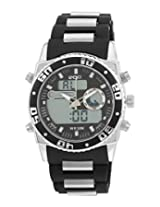 Maxima Ego Analog-Digital Black Dial Men's Watch - E-34330PPAN