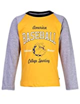 Ollypop Full Sleeves T-Shirt - Baseball Print
