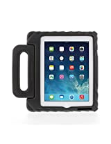 Gumdrop Cases Apple iPad 2, iPad 3, or iPad 4 Kids Lightweight Protective Carrying Case with Handle & Stand, Foam Tech Series, Black (FT-IPAD3-BLK)