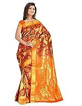 Sehgall Saree Women Silk Saree (A1828 _Rust _Free Size)