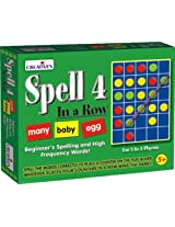 Creative Educational Aids 1064 Spell 4 in a row