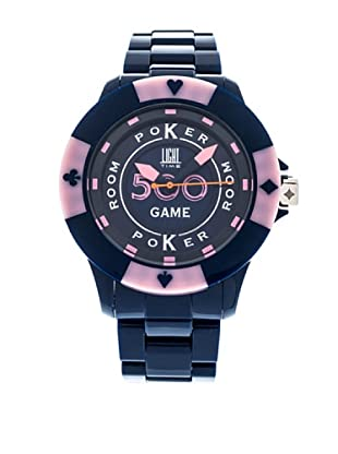 Light Time Reloj Poker Azul / Rosa