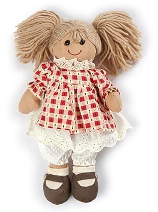 My Doll Stoffpuppe Carol rot