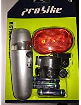 PROBIKE 5 WHITE FRONT LED & 3 RED REAR LED