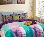 Blue City Dreamer 3pcs King Bedsheet Set