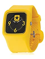 Converse Yellow Silicon Analog Men Watch VR030 900