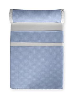 I- Home Juego de Sábanas Topos (Azul)