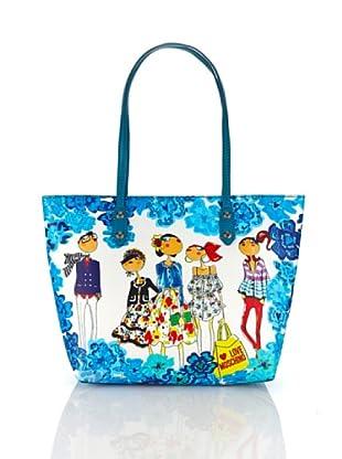 Love Moschino Shopping (Turchese)