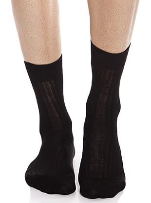 Caramelo Calcetines Sport (negro)