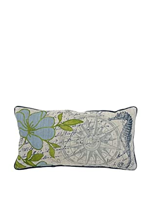 Villa Home Seaside Pillow, Multi