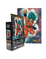Ensky Dragon Ball Resurrection Of F Goku God Form Art Crystal Jigsaw Puzzle (126 Piece)