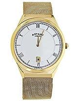 Rotary Golden Analog Men Watch GB0261321