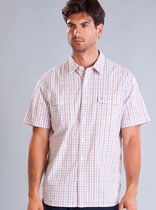 Timberland Camisa (Rojo / Celeste / Blanco)