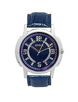 ORNIX Blue Dial Analogue Watch for Men (ORNIX-WATCH6)