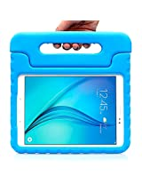 Samsung Galaxy Tab A 9.7 Case - i-Blason ArmorBox Kido Series Light Weight Super Protection Convertible Stand Cover Case 2015 Release (Blue) (Blue)