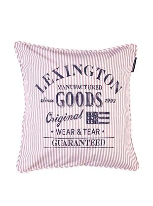 Lexington Company Funda De Cojín Rayas Oxford (Rosa)