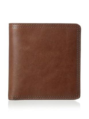 Bosca Men's Faustino 5-Pocket Wallet (Brown)