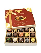 Sweet Treat Of 20pc Truffle Box - Chocholik Belgium Chocolates