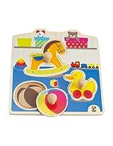Hape - My Toys Knob Puzzle