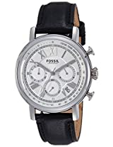 Fossil End of Season Buchanan Analog Silver Dial Men's Watch - FS5102I