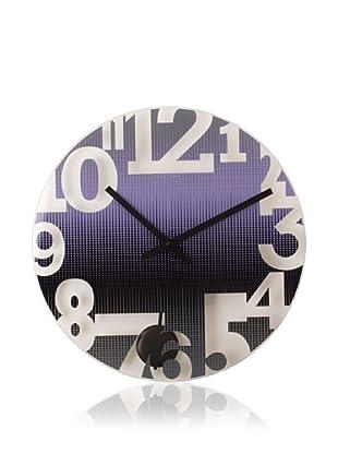 NeXtime Swing Wall Clock (Purple)