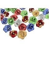 Foppish Mart Assorted Shining Multicoloured Big Rose
