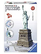 Ravensburger 3D Puzzles Statue of Liberty, Multi Color (108 Pieces)