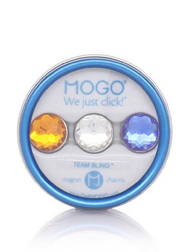 MOGO Design Orange-Clear-Blue Team Bling Collection