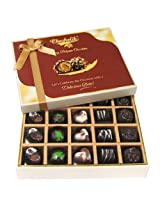 Great Combination Of 20 Pc Assorted Chocolates - Chocholik Belgium Chocolates