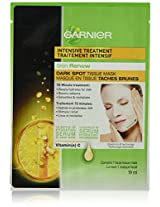 Garnier Skin Renew Dark Spot Treatment Mask - 1 Piece, 19 Ml