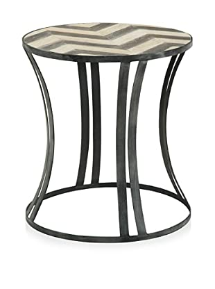 Shine by S.H.O. Morgan Side Table (Antique Black/Grey)