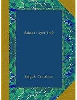 Bakara : âyet 1-10