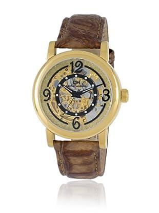 Carlo Monti Damen Armbanduhr Cremona Analog Automatik Leder CM120 200