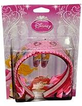 Disney Pink Princess Hotprint Hair band & Tic-tac clip Pair