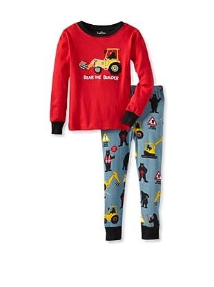 Hatley  Pijama Acanto (Rojo / Azul)