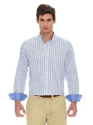 Turrau Camisa Cuadro Medio (Azul)