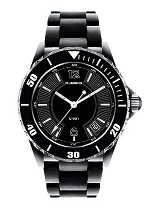 K&BROS 9137-1 / Reloj de Señora  con brazalete metálico negro