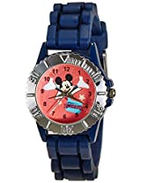 Disney Analog Multi-Color Dial Children's Watch - LP-1005 (Dark Blue)